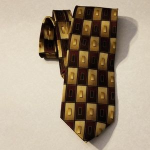 Hand made art deco tie